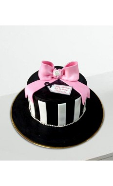 Birthday Ribbon Cake